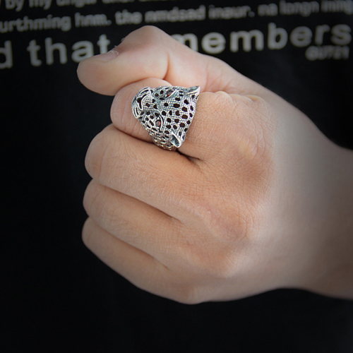 bague unisex argent zirconium 8100015 pic5