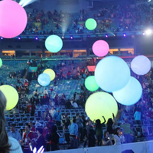 ballon lumineux led RGB