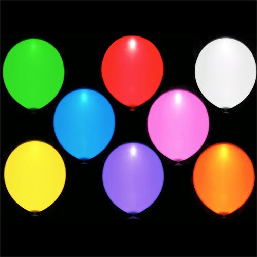 ballons lumineux led pic