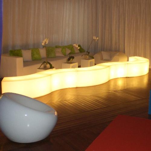 banquette lumineuse pour bar HSSTB pic3