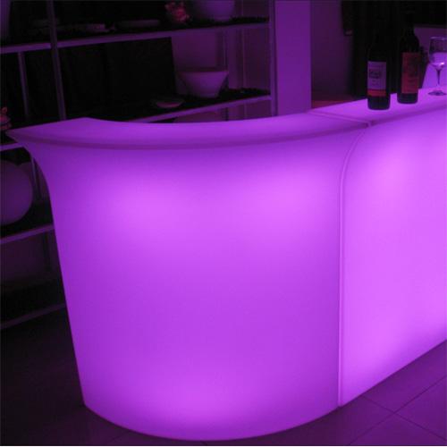 bar lumineux led element angle