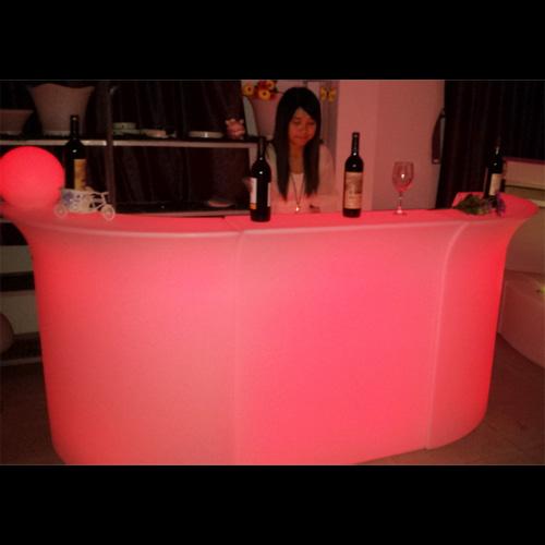 bar lumineux led element droit