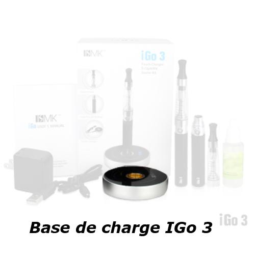base chargeur igo3