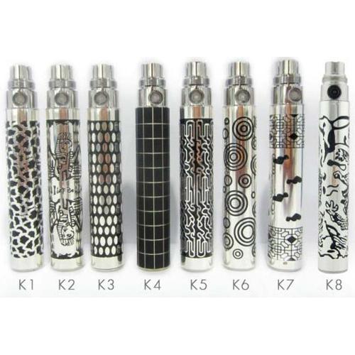 batterie e cigarette EGO avec motif mono BATEGOMM