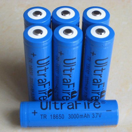 batteries 18650 bleu 3000mah