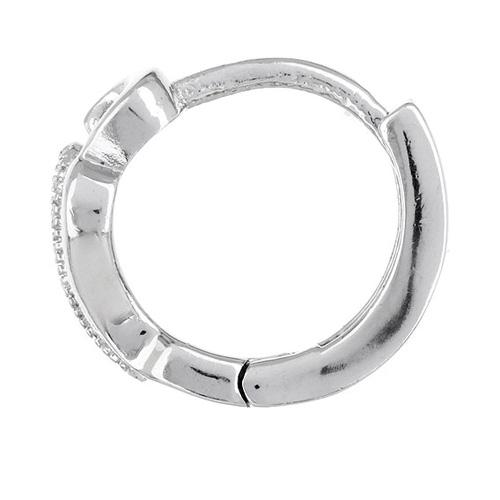 boucle oreille femme argent zirconium 8800025 pic3