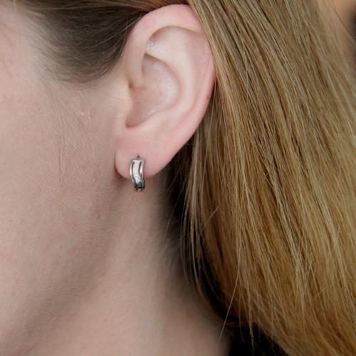 boucle oreille femme argent zirconium 8800026 pic5