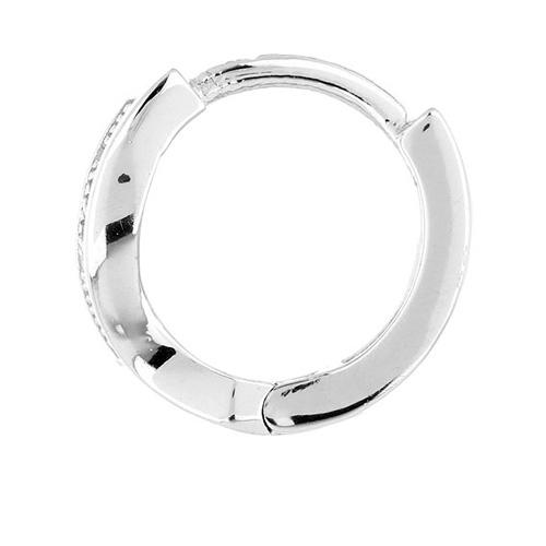 boucle oreille femme argent zirconium 8800027 pic3