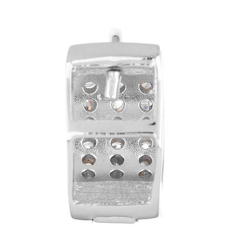 boucle oreille femme argent zirconium 8800028 pic4