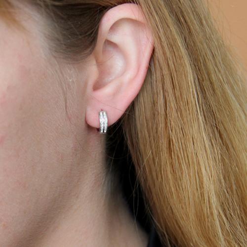 boucle oreille femme argent zirconium 8800035 pic5