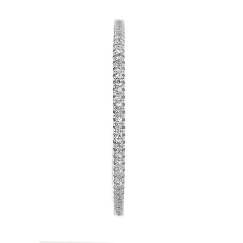 boucle oreille femme argent zirconium 8800039 pic2