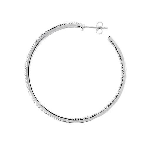 boucle oreille femme argent zirconium 8800042 pic3