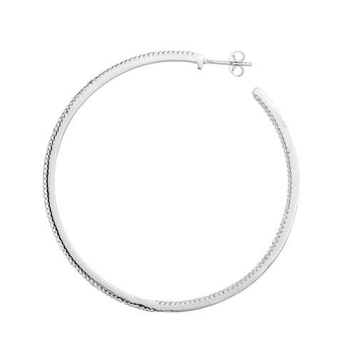 boucle oreille femme argent zirconium 8800043 pic3