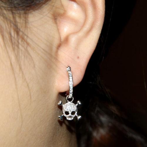 boucle oreille femme argent zirconium 9300001 pic5