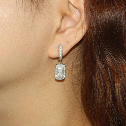 boucle oreille femme argent zirconium 9300002 pic5