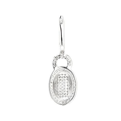 boucle oreille femme argent zirconium 9300004 pic4