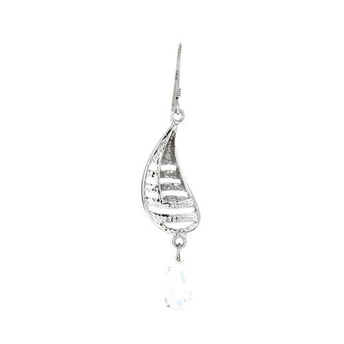 boucle oreille femme argent zirconium 9300008 pic4