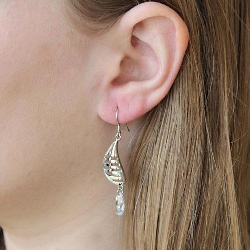 boucle oreille femme argent zirconium 9300008 pic6
