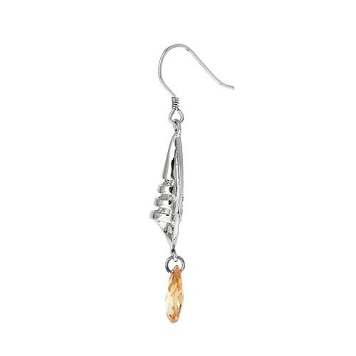 boucle oreille femme argent zirconium 9300010 pic3