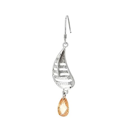 boucle oreille femme argent zirconium 9300010 pic4