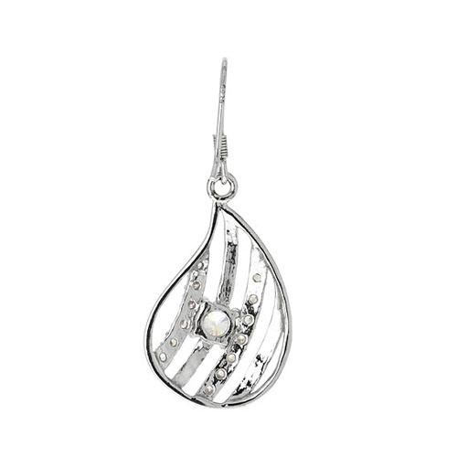 boucle oreille femme argent zirconium 9300011 pic4