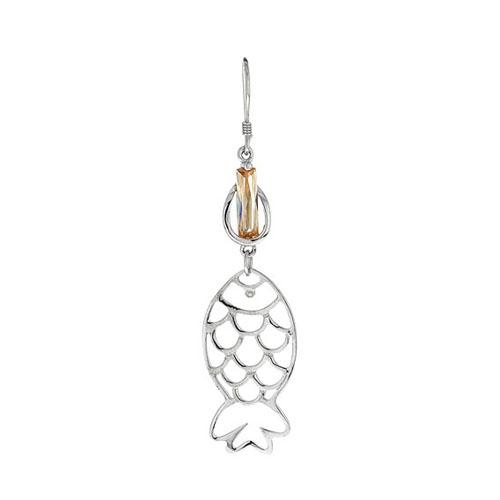 boucle oreille femme argent zirconium 9300018 pic2