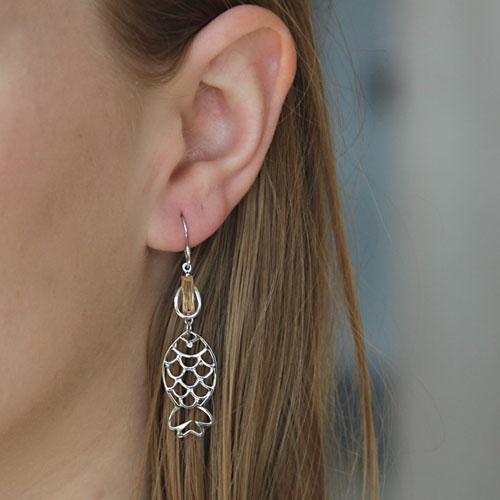 boucle oreille femme argent zirconium 9300018 pic5