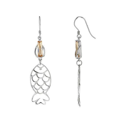boucle oreille femme argent zirconium 9300018