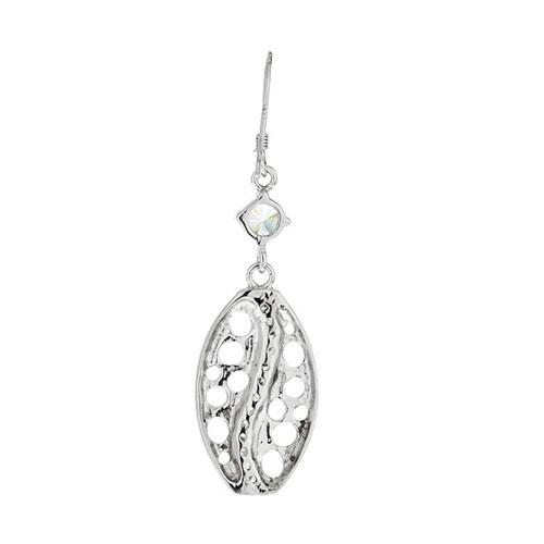 boucle oreille femme argent zirconium 9300022 pic4