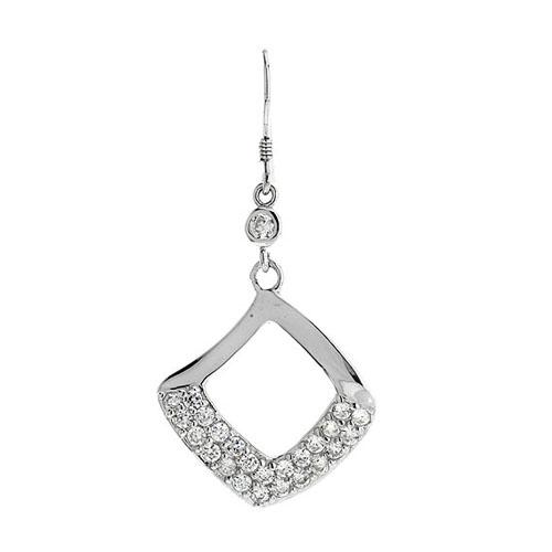 boucle oreille femme argent zirconium 9300061 pic2