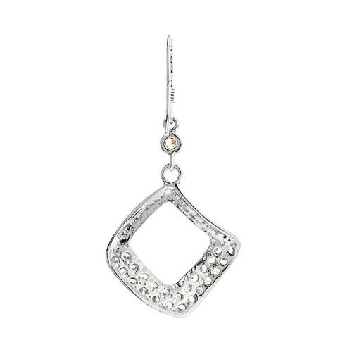 boucle oreille femme argent zirconium 9300061 pic4