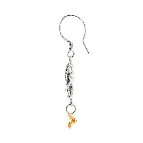 boucle oreille femme argent zirconium 9300062 pic3