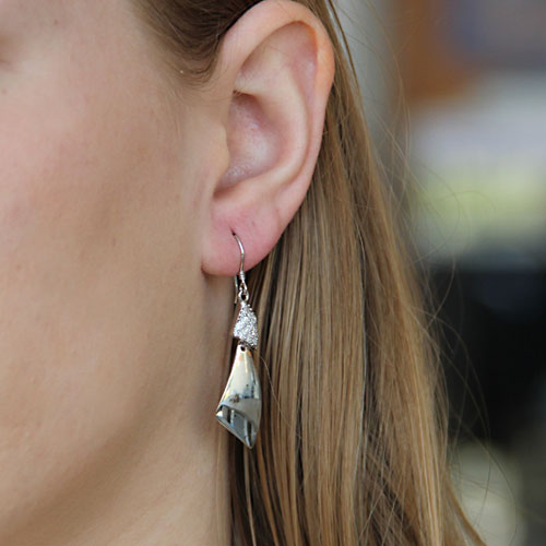 boucle oreille femme argent zirconium 9300063 pic5