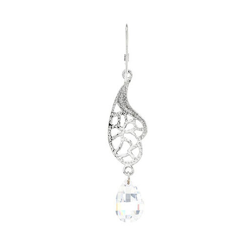 boucle oreille femme argent zirconium 9300065 pic4