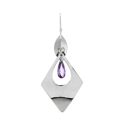 boucle oreille femme argent zirconium 9300072 pic4