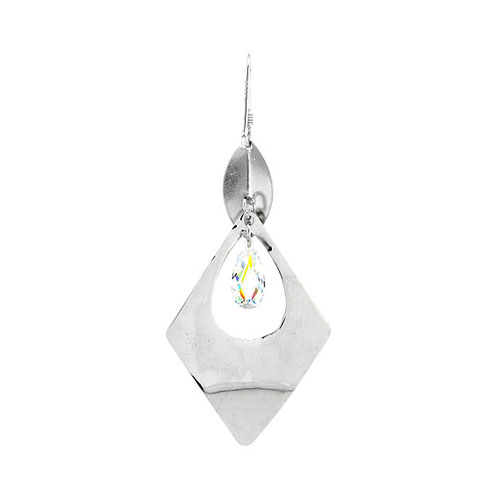 boucle oreille femme argent zirconium 9300074 pic4