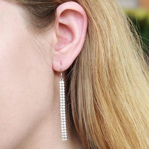 boucle oreille femme argent zirconium 9300076 pic5