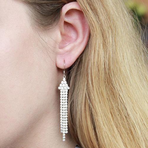 boucle oreille femme argent zirconium 9300079 pic5