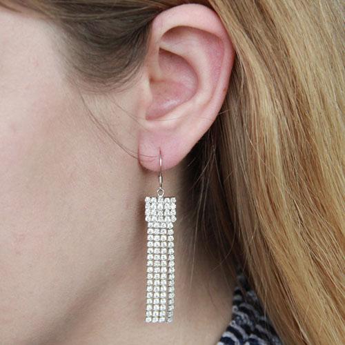 boucle oreille femme argent zirconium 9300084 pic5