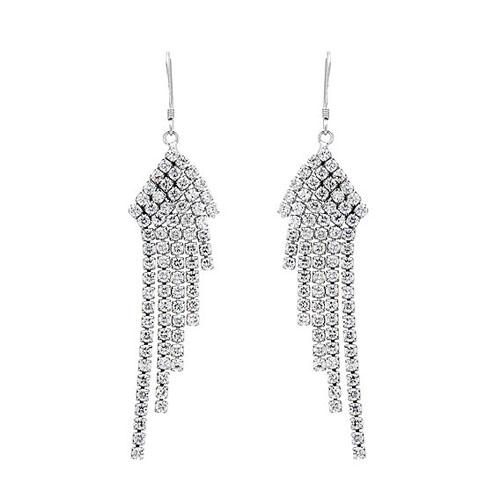 boucle oreille femme argent zirconium 9300085 pic2