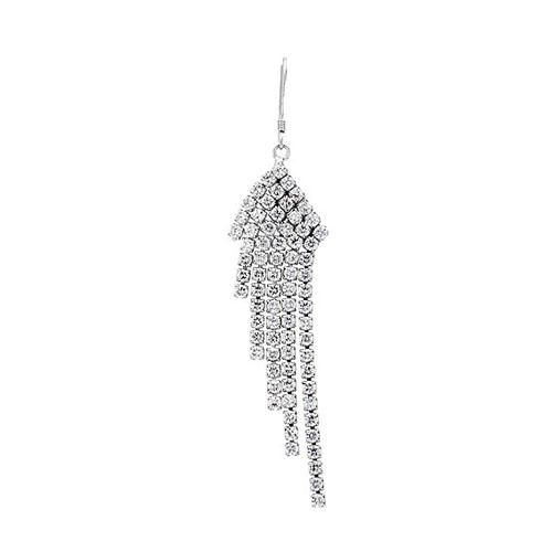 boucle oreille femme argent zirconium 9300085 pic3
