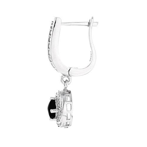boucle oreille femme argent zirconium 9300094 pic3
