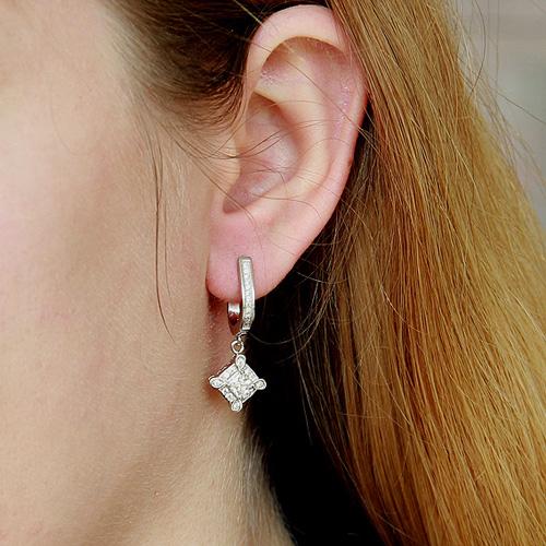 boucle oreille femme argent zirconium 9300097 pic5