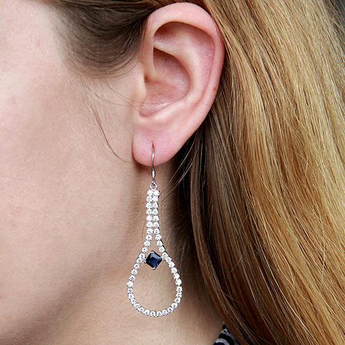 boucle oreille femme argent zirconium 9300105 pic5