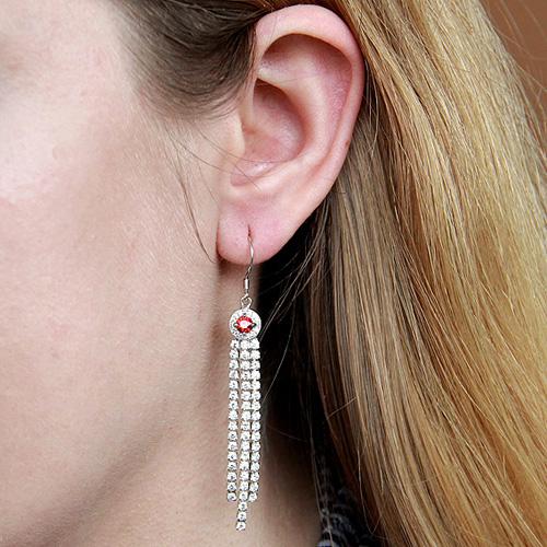 boucle oreille femme argent zirconium 9300107 pic5