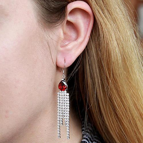 boucle oreille femme argent zirconium 9300108 pic5