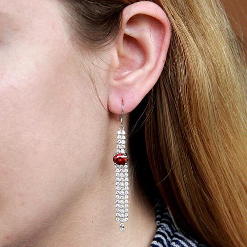 boucle oreille femme argent zirconium 9300109 pic5