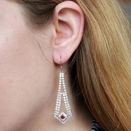 boucle oreille femme argent zirconium 9300111 pic5