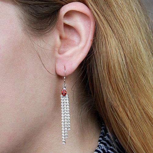 boucle oreille femme argent zirconium 9300113 pic5