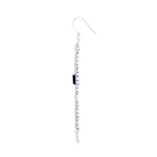 boucle oreille femme argent zirconium 9300126 pic3